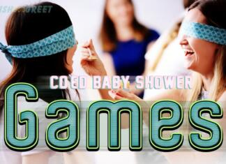 Coed Baby Shower Games