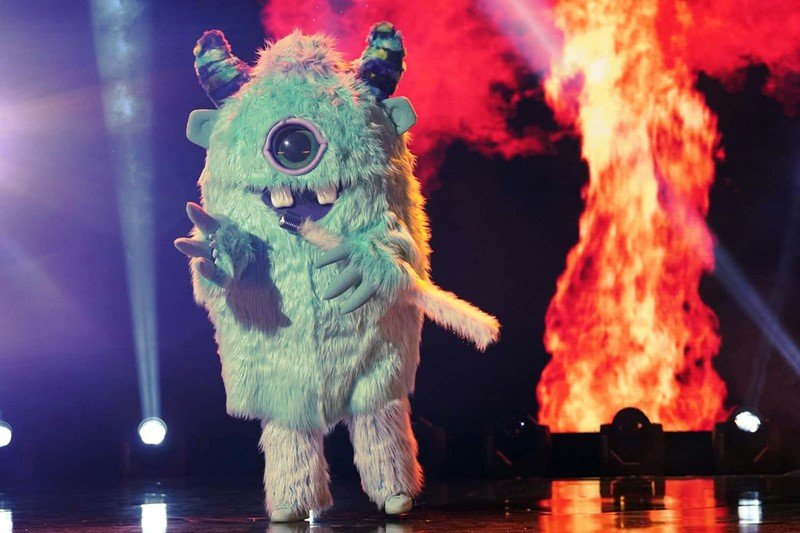 Halloween Costumes Dressing up as The Monster as you have seen in The Masked Singer