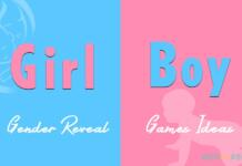 Gender Reveal Games
