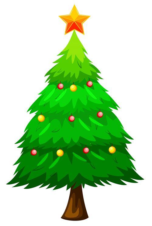 Christmas Tree Clip Art 10