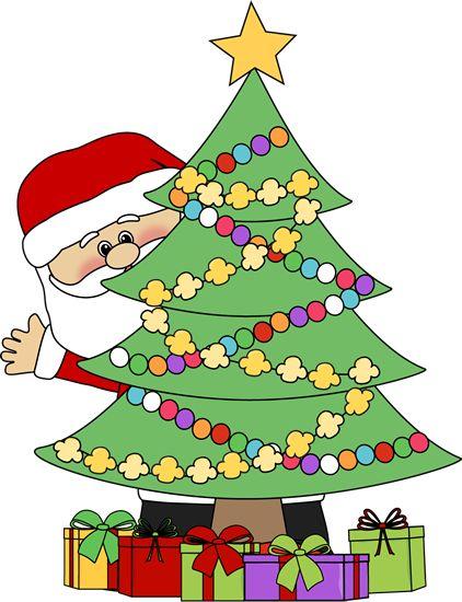 Christmas Tree Clip Art 2