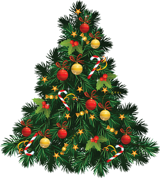 Christmas Tree Clip Art 3
