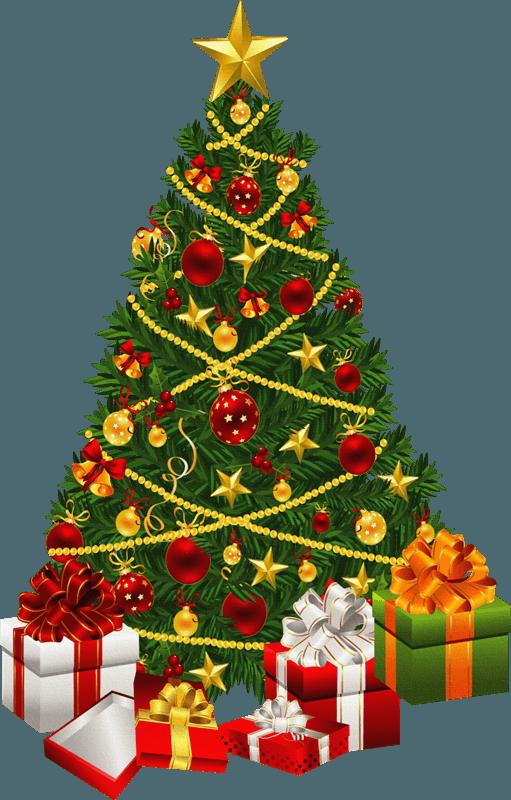 Christmas Tree Clip Art 4