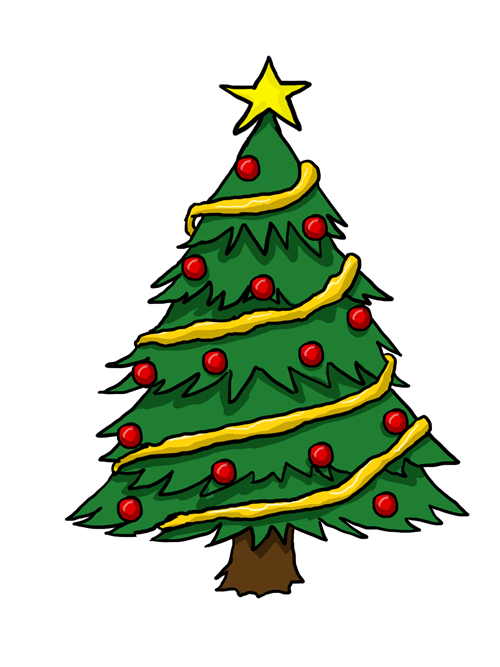 Christmas Tree Clip Art 5