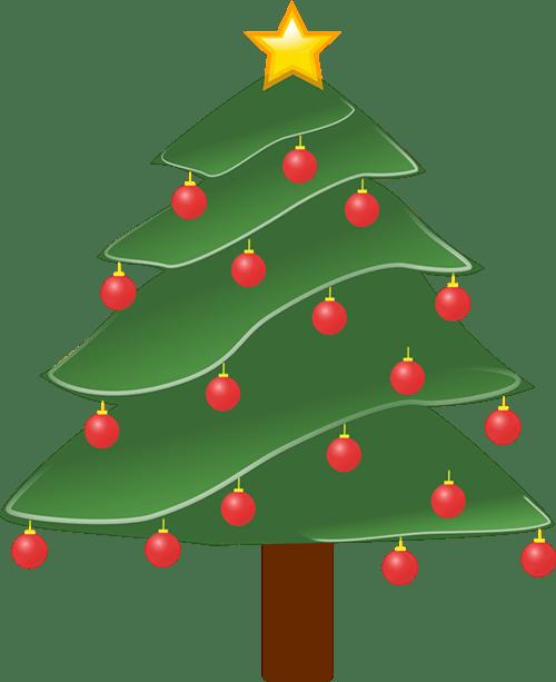 Christmas Tree Clip Art 6