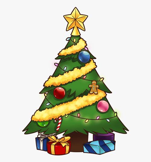 Christmas Tree Clip Art 7