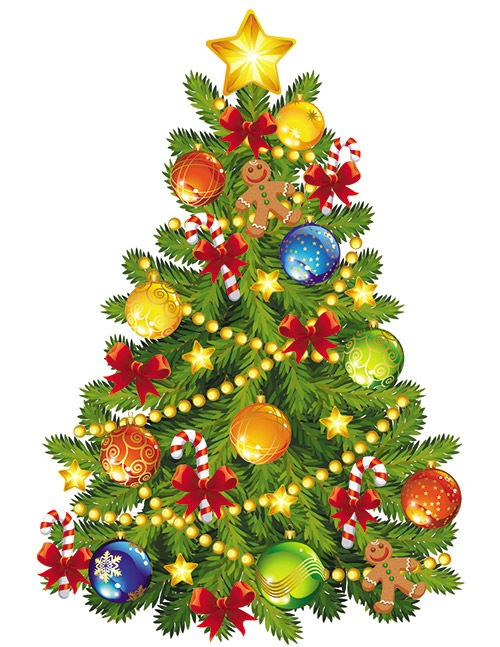 Christmas Tree Clip Art 8