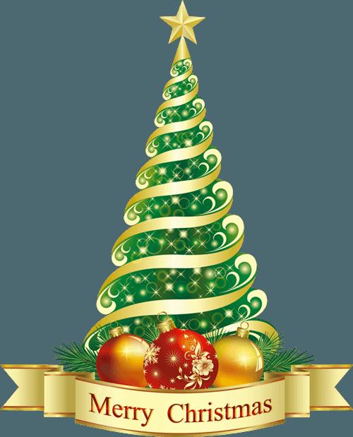 Christmas Tree Clip Art 9