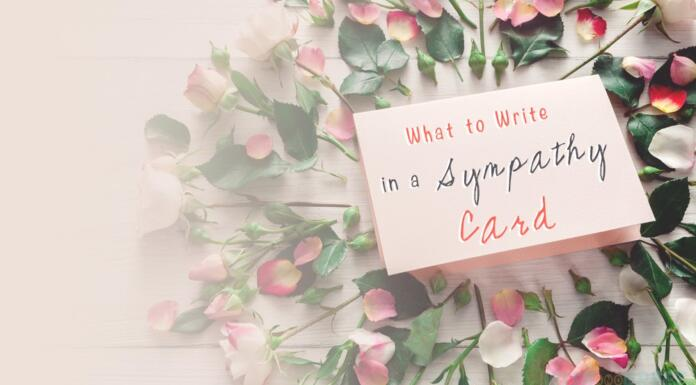 What to Write in a Sympathy Card